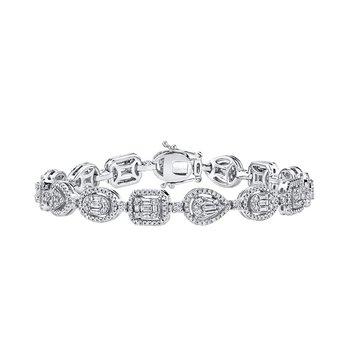 Glamour Bracelet - 2.50cttw