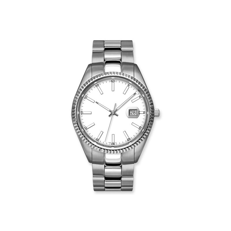 Lasker's Timepiece Collection Lasker 43mm Steel Watch