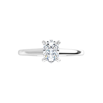 .70ct Oval Petite Solitaire Ring