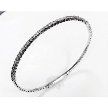 Diamond Flex Bangle - 1cttw