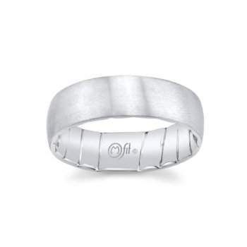 8mm Band with Satin Finish