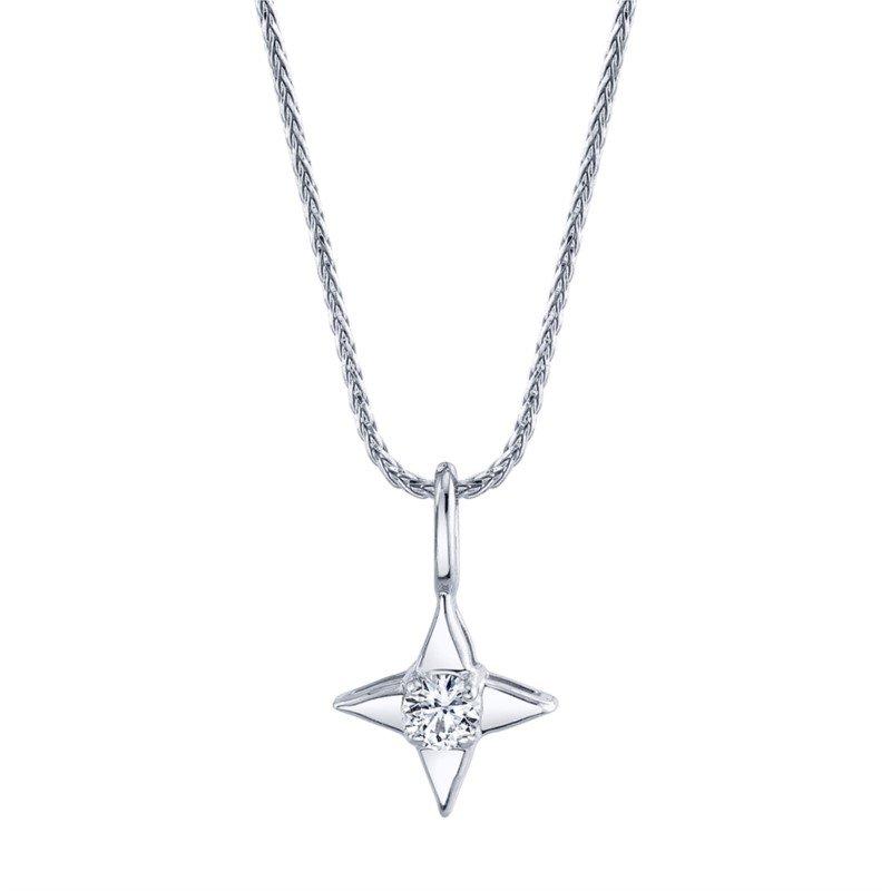Star Of Hope Diamond Pendant