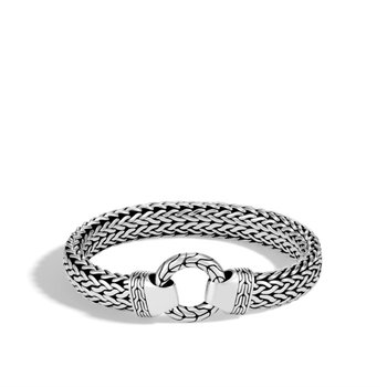 Classic Chain Ring Clasp Bracelet