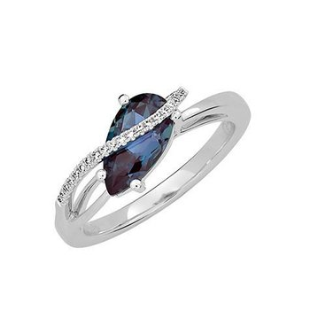 Chatham Created Alexandrite Ring