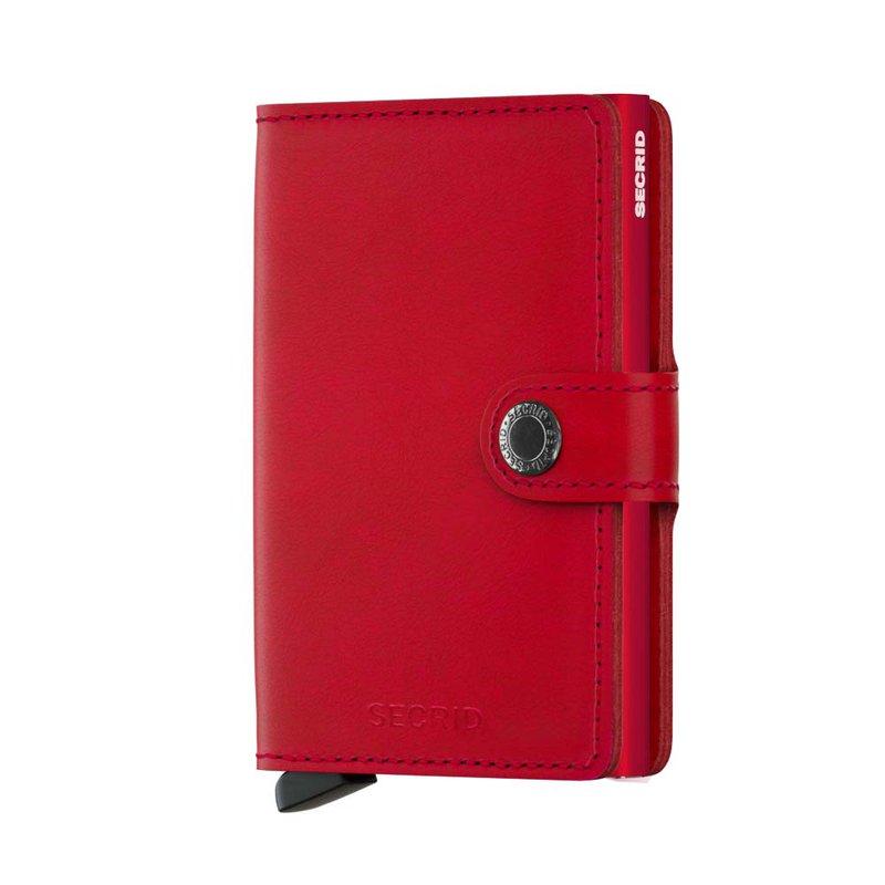 Lasker Signature Miniwallet Red
