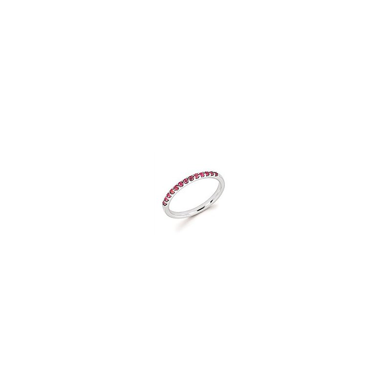 Lasker Gemstone October Stackable Band