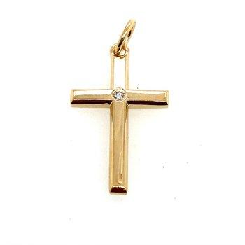 Single Diamond Cross