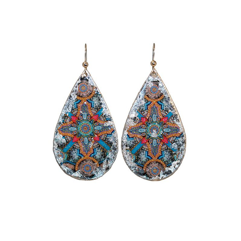 Evocateur Charlemagne Teardrop Earrings