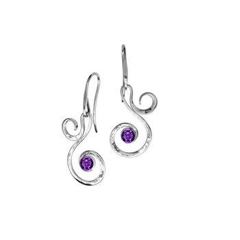 Fiddlehead Earrings