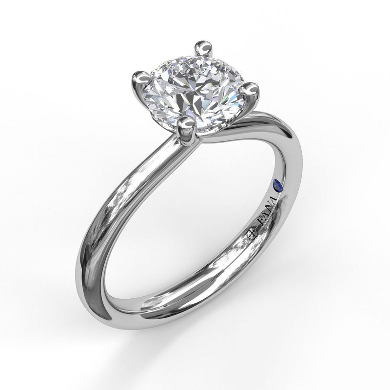 Fana Solitaire Engagement Ring Mounting