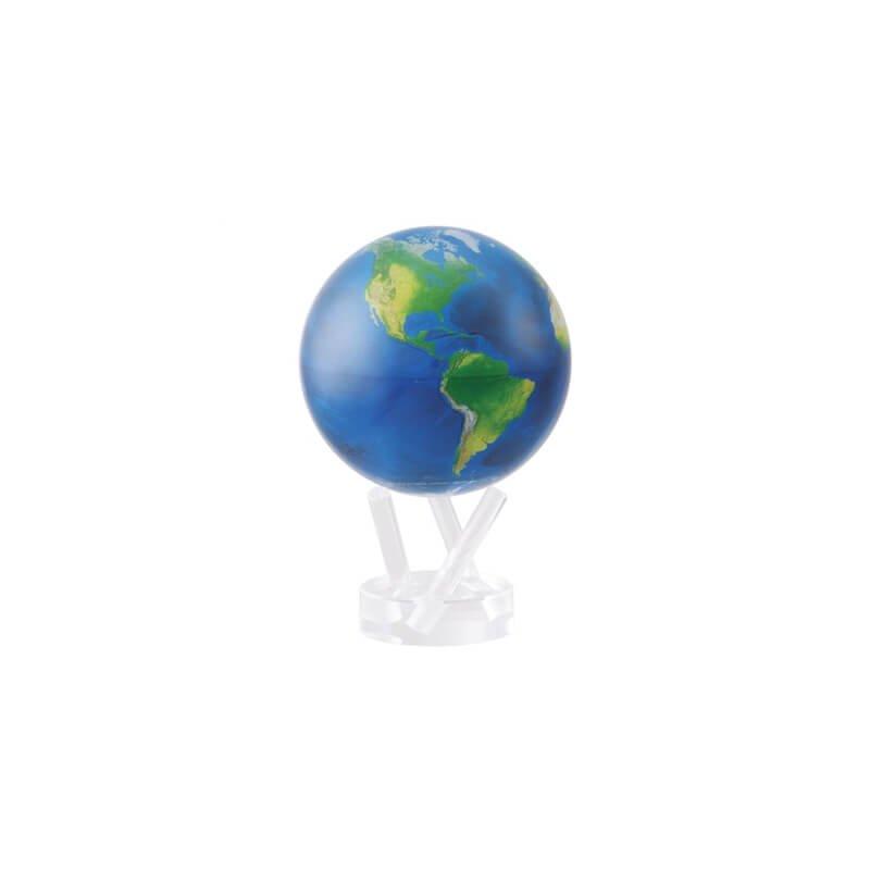"Mova Globes Mova - 6"" Satellite View Natural Earth"