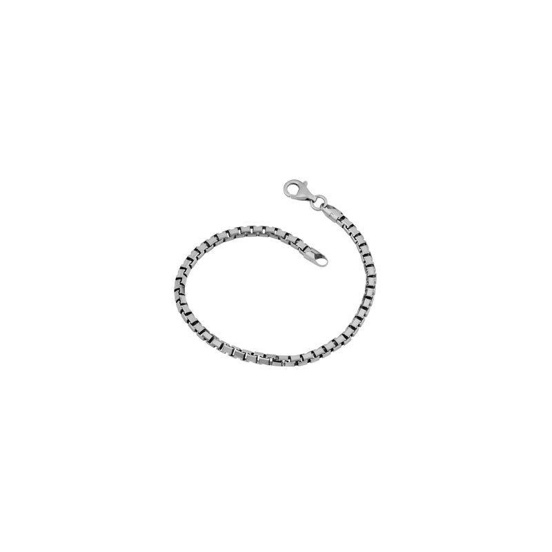 """Lasker Signature Box Chain Bracelet - 8.5"""""""