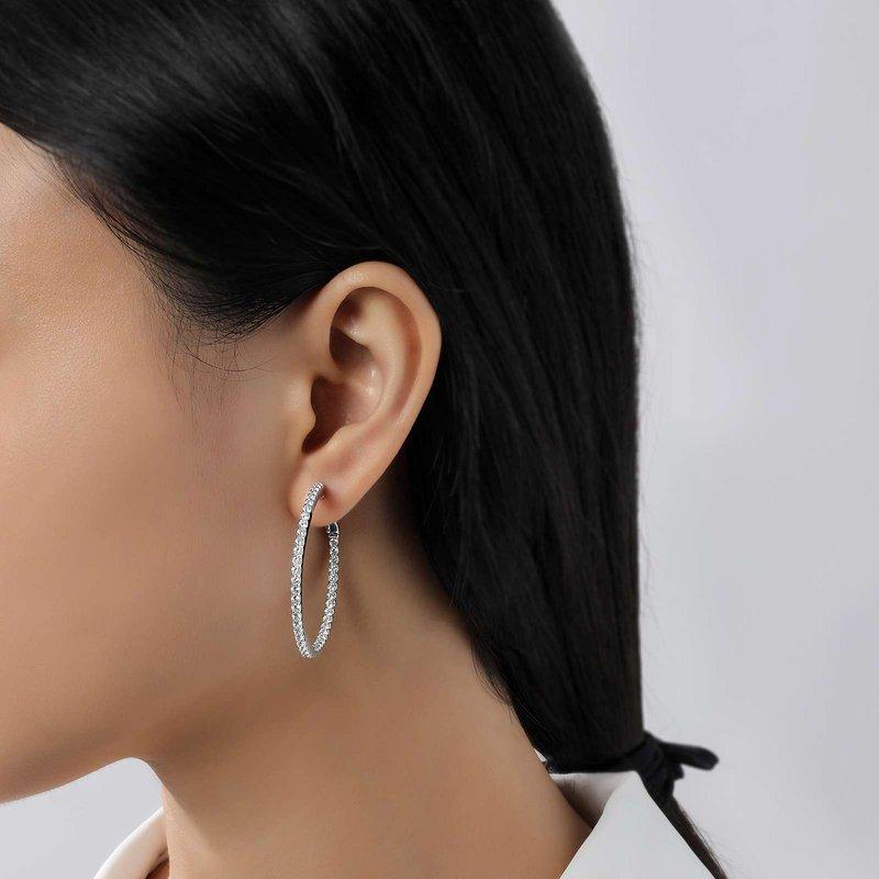 LaFonn Inside Outside Hoop Earrings