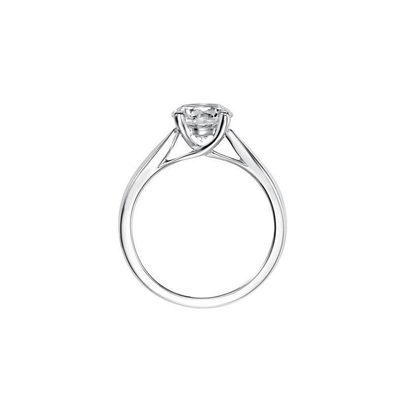 Lasker Bridal 1.01ct Oval Trellis Solitaire Ring