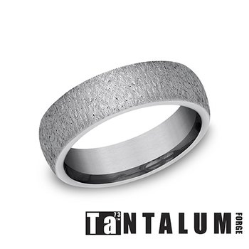 6mm Tantalum Band - Stone Finish