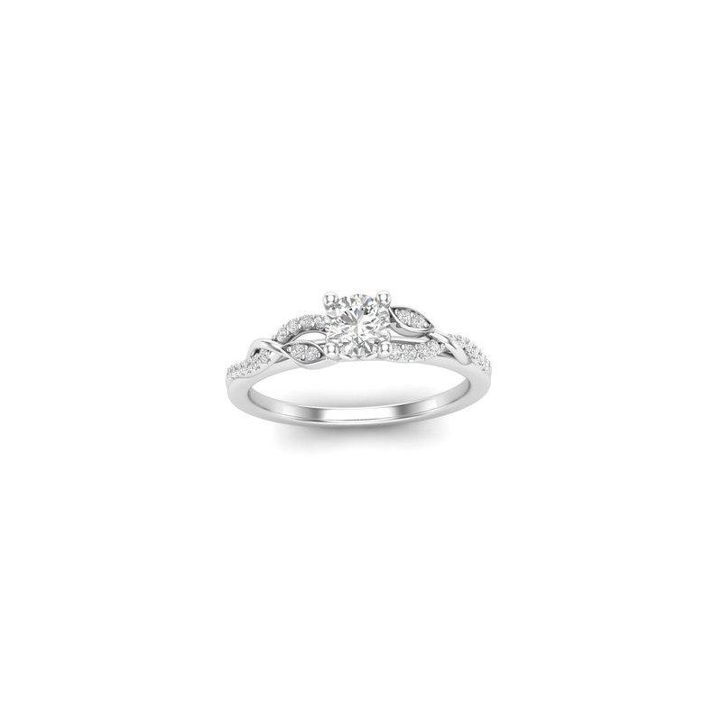 Lasker Bridal Scrolling Vine Ring
