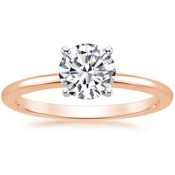 .90ct Rose Gold Solitaire