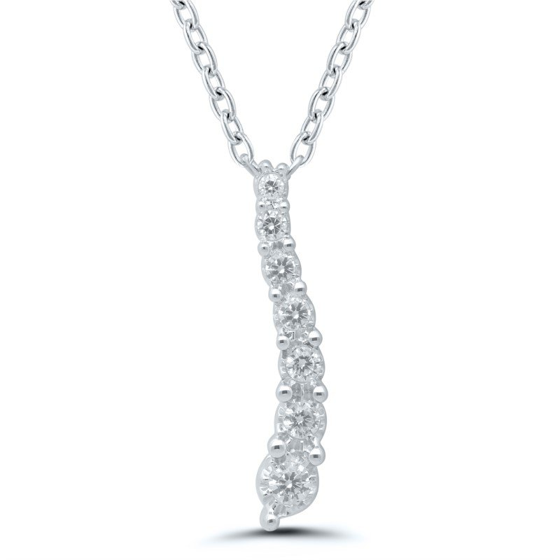 Lasker Diamond Fashion Journey Pendant
