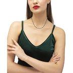 Kendra Scott Jenna Gold Choker Necklace In Black Obsidian