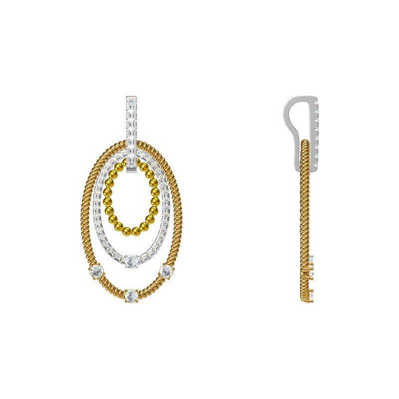 Lasker Diamond Fashion You and Me Pendant