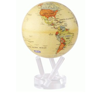 "MOVA GLOBE 6"" ANTIQUE"