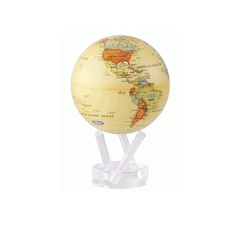 "Mova Globes MOVA GLOBE 6"" ANTIQUE"