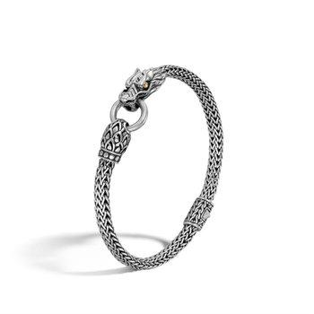 Gold & Silver Dragon Bracelet