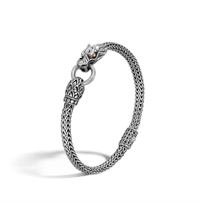JOHN HARDY Gold & Silver Dragon Bracelet