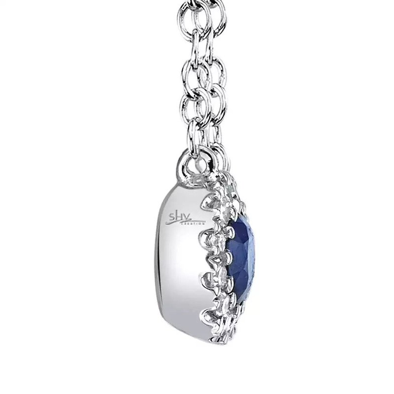 Lasker Gemstone Center of My World Sapphire Pendant