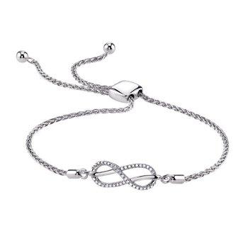 Infinity Bolo Bracelet