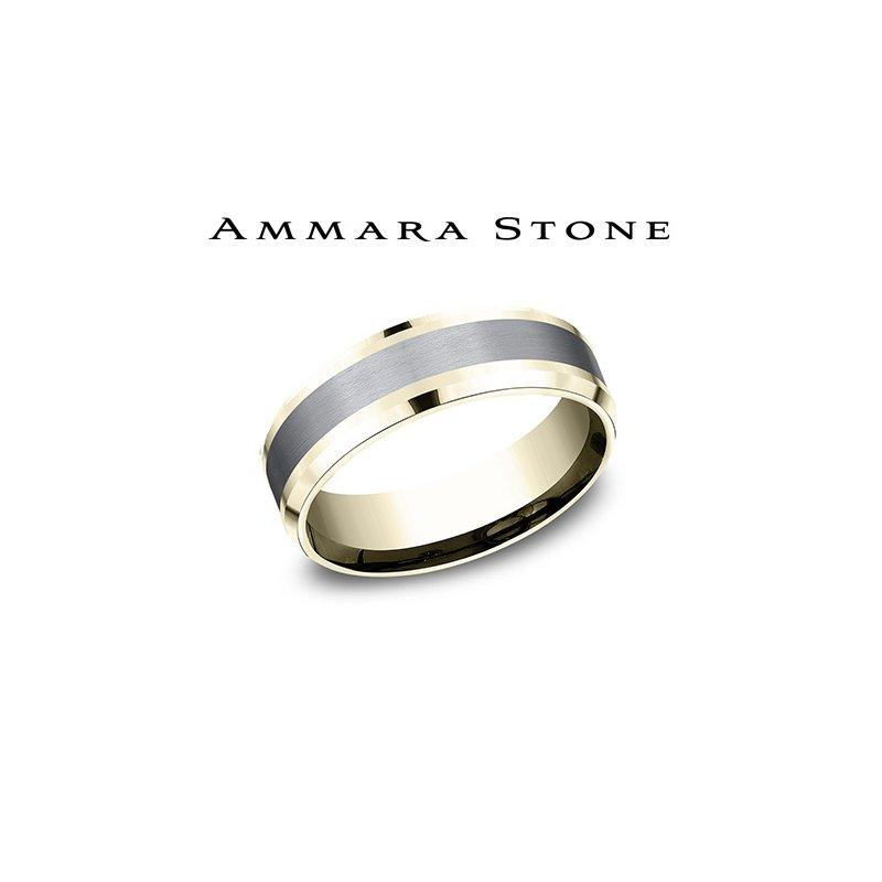 Lasker Men's AMMARA STONE 14KY & TANTALUM