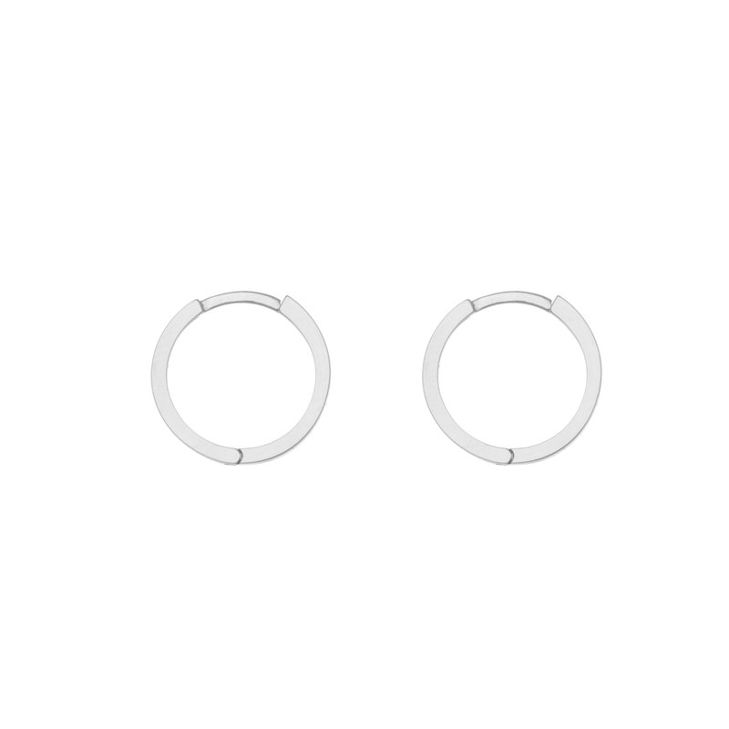 Lasker Gold Fashion Square Wire Huggie Earrings