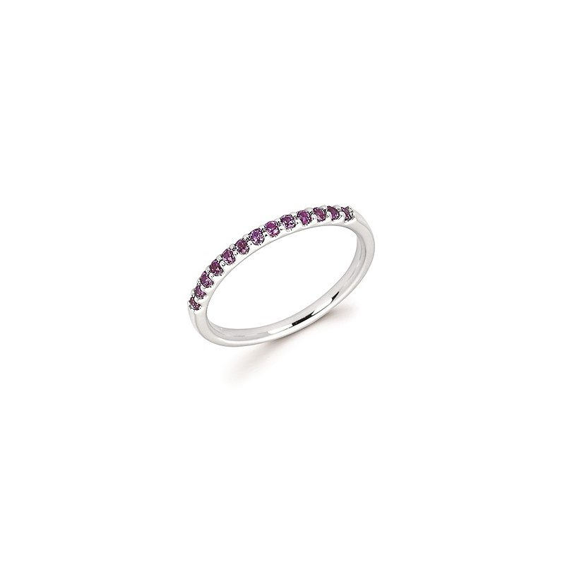 Lasker Gemstone Created Alexandrite Birthstone Ring
