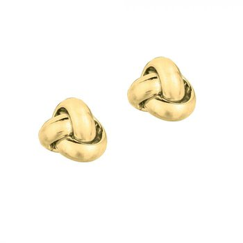 Love Knot Studs - 9mm