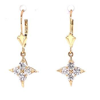 Leverback Dangle Earrings
