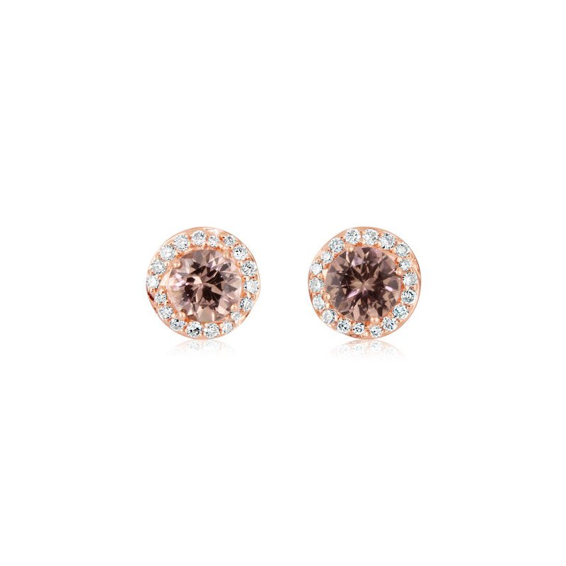 Lasker Gemstone Rare Gem!! Lotus Garnet Earrrings