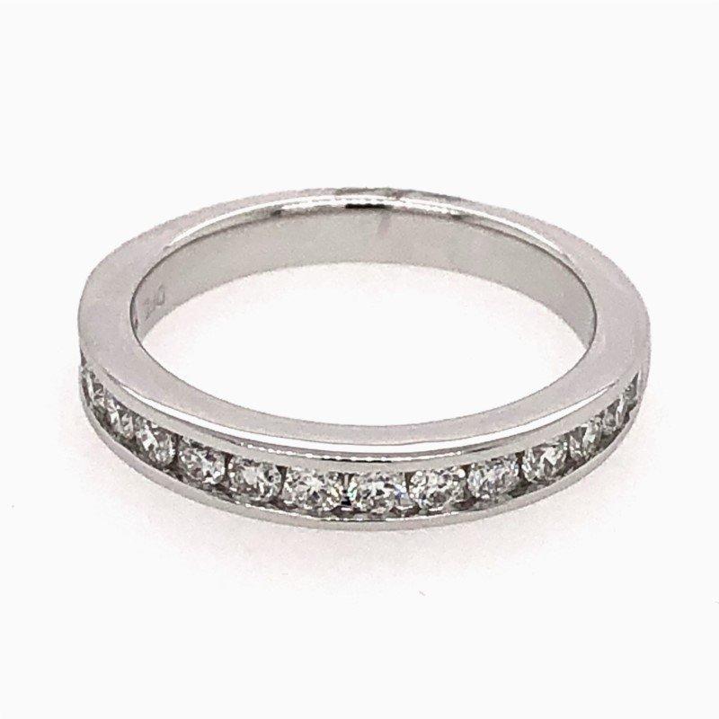 Lasker Bridal Channel Set Diamond Band