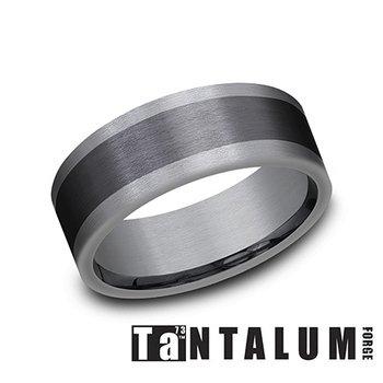 Tantalum Dark & Titanium Band