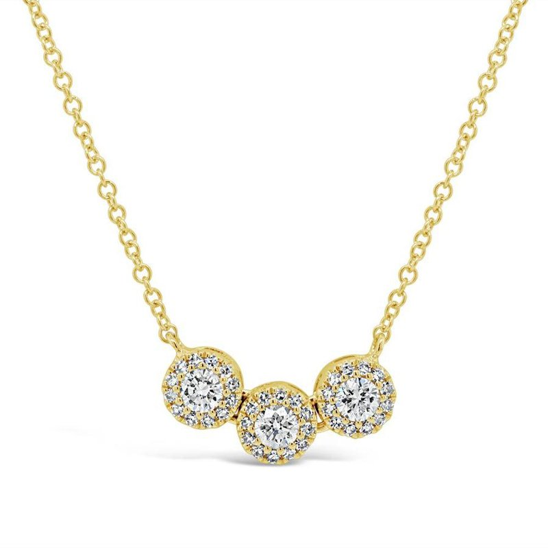 Lasker Diamond Fashion Diamond Halo Necklace