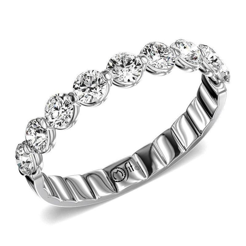 Lasker Bridal Comfort Fit Diamond Band - 1CTTW