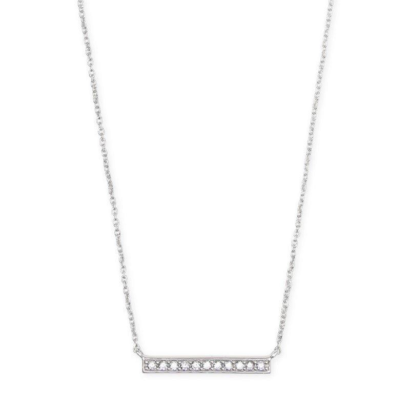 Kendra Scott Addison Pendant Necklace In Silver
