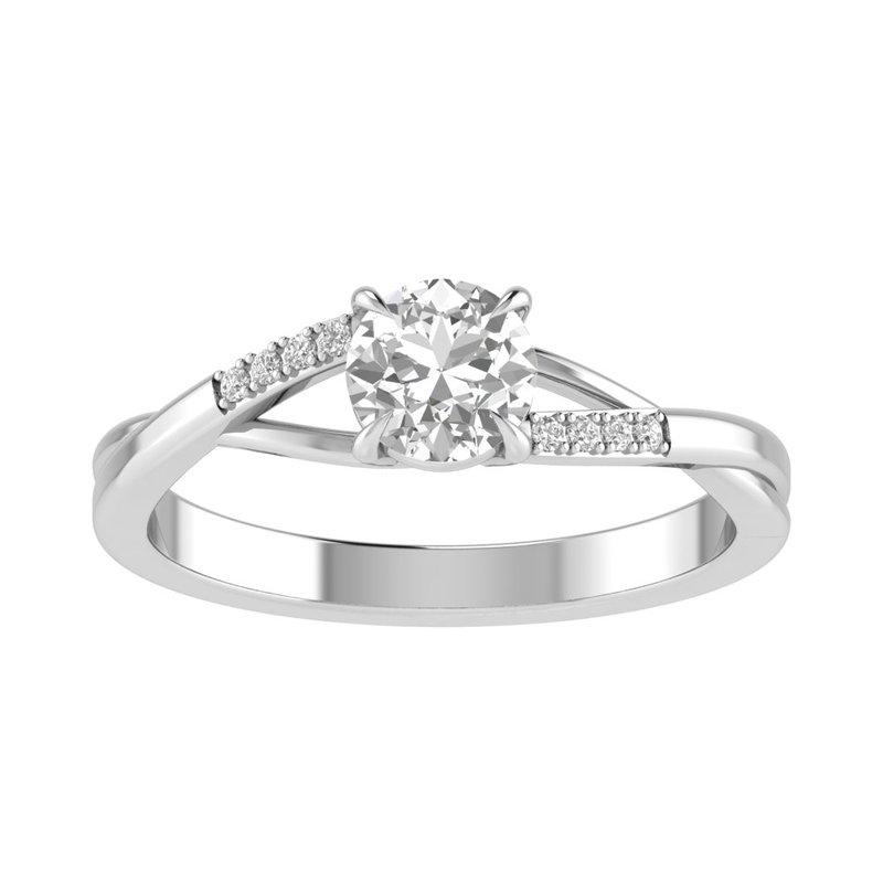 Lasker Bridal Charlize Split-Shank Ring