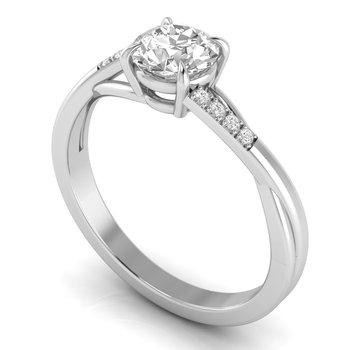 Charlize Split-Shank Ring