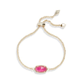 ELAINA BRACELET GOLD WITH AZALEA ILLUSION STONE