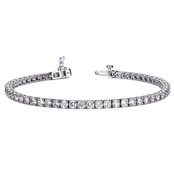 Diamond Tennis Bracelet - 4cttw