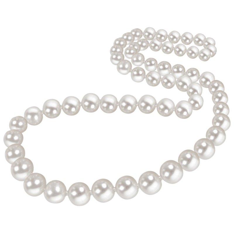 "Lasker Pearl Fashion 20"" AKOYA CULTURED PEARL STRAND 7-7.5MM"