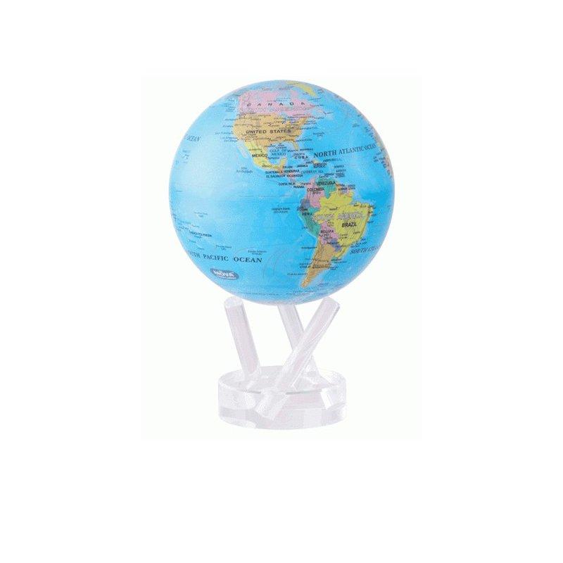 "Mova Globes MOVA Globe - 4.5"" Ocean Blue"