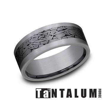 Tantalum & Titanium Fractured Rock Band