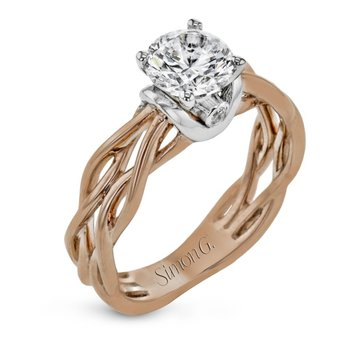 Twining Engagement Ring Mounting