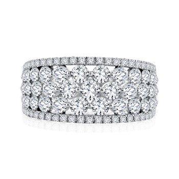 Fire & Ice Fashion Ring - 2cttw Diamonds